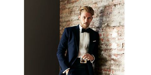 Holiday Dressing: Consider the Midnight Blue Tux