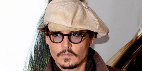 Johnny Depp is Now an Award Winning Make-Up-Wearer