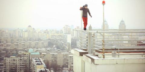 Meet Mustang Wanted The Ukrainian Who Will Climb Anything - Meet craziest man world mustang wanted