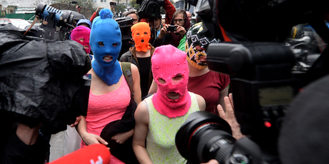 pussy riot unrest