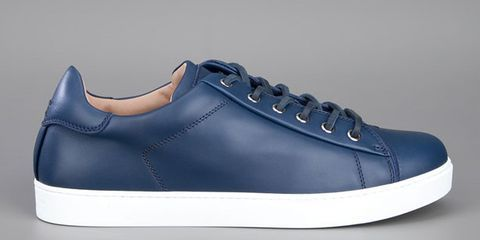 Footwear, Blue, Product, Shoe, Photograph, White, Line, Style, Sneakers, Logo,