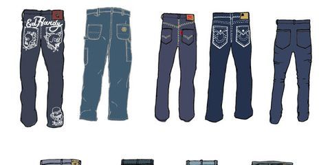 A Day of Shopping for Denim