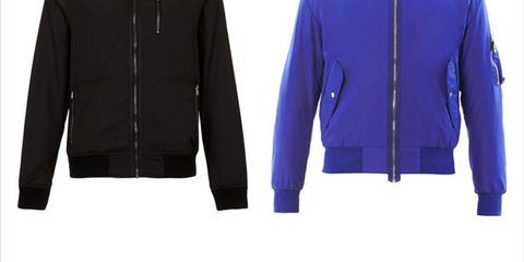 Clothing, Blue, Product, Jacket, Collar, Sleeve, Textile, Outerwear, White, Electric blue,