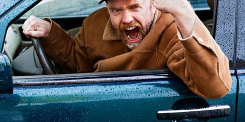 Motor vehicle, Automotive exterior, Vehicle door, Glass, Cap, Windshield, Automotive window part, Facial hair, Beard, Hood,