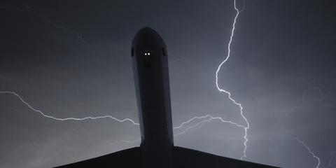 lightning plane
