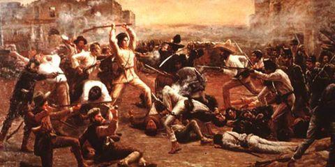 Art, Battle, Mythology, History, Painting, Visual arts, Middle ages, Artwork, Illustration, Rebellion,