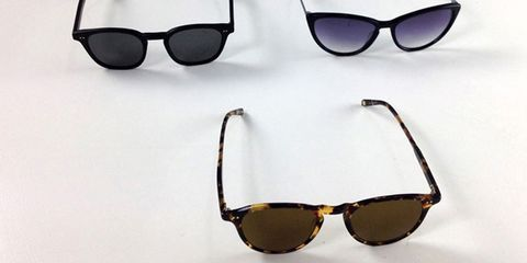 Eyewear, Glasses, Vision care, Sunglasses, Brown, Product, Personal protective equipment, Photograph, White, Goggles,