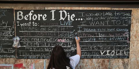 Blackboard, Wall, Handwriting, Bag, Chalk, Luggage and bags, Writing, Education, Class, Back,