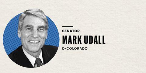 Senator Mark Udall Graphic
