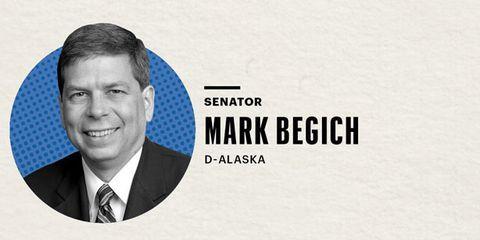 Senator Mark Begich Graphic