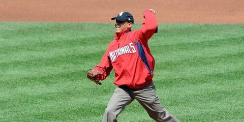 Obama Game Faces Baseball