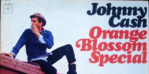 Johnny Cash, <i>Orange Blossom Special</i> Cover