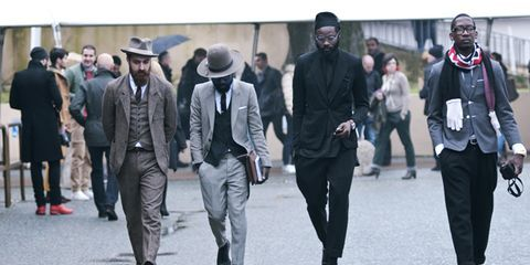 Street Style: Pitti Uomo Fall/Winter 2013