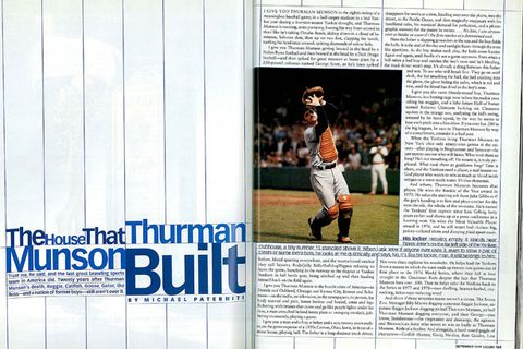 new arrival ac4d7 e83b8 The House That Thurman Munson Built