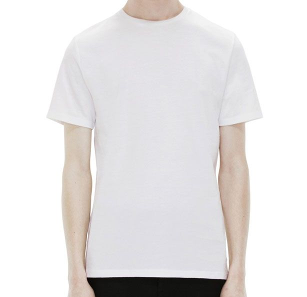 fa536e3032d9 A $90 T-Shirt That's Actually Worth The Price - Acne Measure White Tee Shirt  for Men