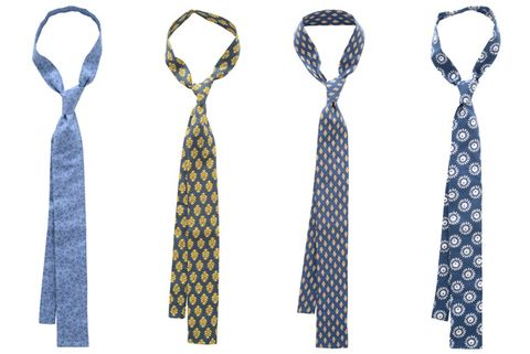 Hugh & Crye's Bold New Square-End Ties