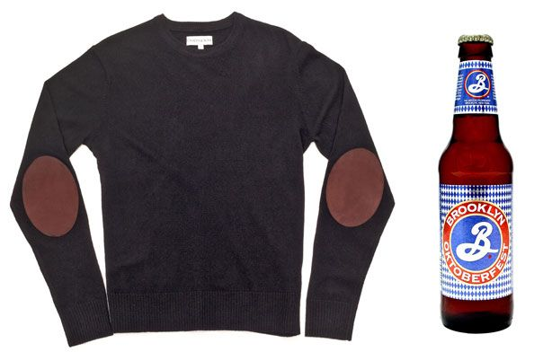 Wear This, Drink That: Ovadia & Sons Crewneck Sweater and Brooklyn Oktoberfest