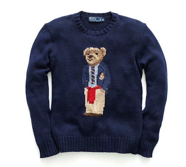 The Return of the Ralph Lauren Polo Bear - Best Sweaters for Men