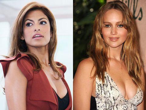 Eva Mendes vs. Jennifer Lawrence