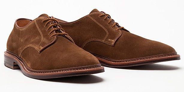 Alden Suede Blucher - Best Shoes for Men