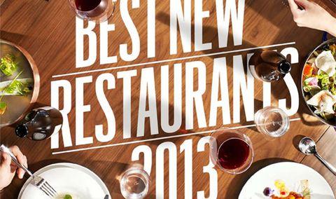The Best New Restaurants in America, 2013