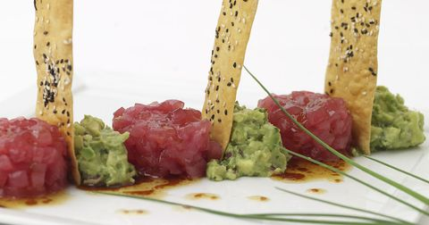 Charlie Palmer's Irresistible Ahi Tuna Tartare Recipe for the Super Bowl