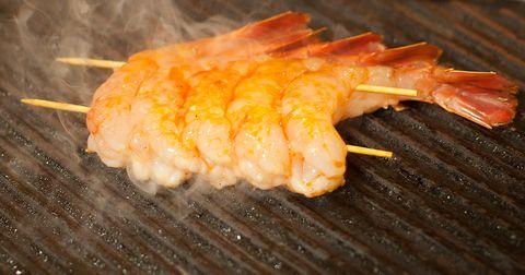 Charlie Palmer's Grilled Lemon-Tarragon Shrimp Recipe