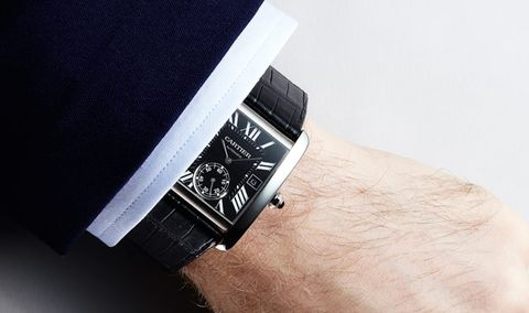 The No-Quit Cool of the Cartier Tank