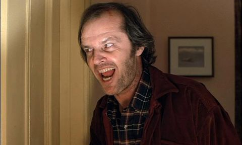 Jack Nicholson Shining watch jack nicholson get into character for the 'here's johnny