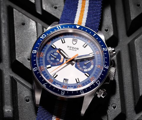 The Essential: The Tudor Heritage Chrono Blue