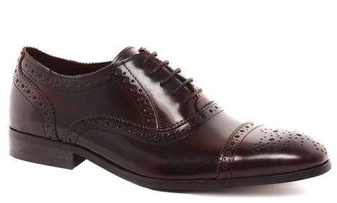Shoe Porn: ASOS Leather Cap Toe Brogues