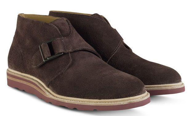 Shoe Porn: Cole Haan Monk Strap Chukka Boots