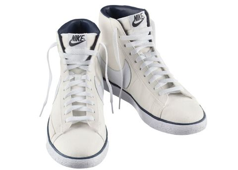 big sale 463bc f6ad6 Wear these while hanging out with friends on a low-key weekend. Blazer  sneakers (110) by A.P.C. + Nike ...