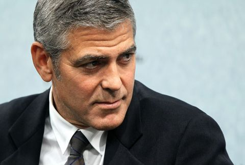 George Clooney Does Not Like Twitter