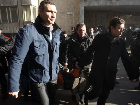 What Vitali Klitschko, the Boxer, Tells Us About Vitali