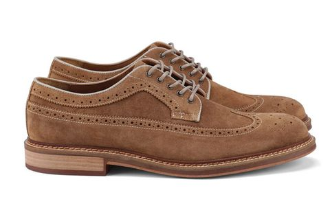 ee5fbcd0c7 Walk in these when you want to look like a million bucks but are on a  budget. Ellias wingtip brogues ($150) by Mr. B's, aldoshoes.com