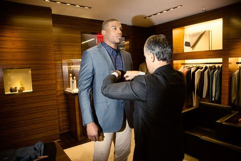 Behind-the-Scenes with Cam Newton at the NFL Honors