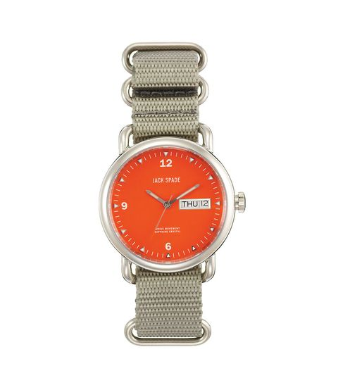 Product, Analog watch, Watch, Watch accessory, Metal, Glass, Font, Technology, Strap, Grey,
