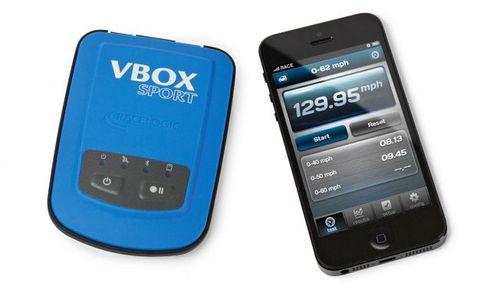 VBOX Sport Performance Test