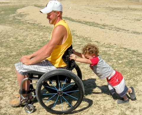 Dustin Shillcox Is Paralyzed. Now, He Can Stand.