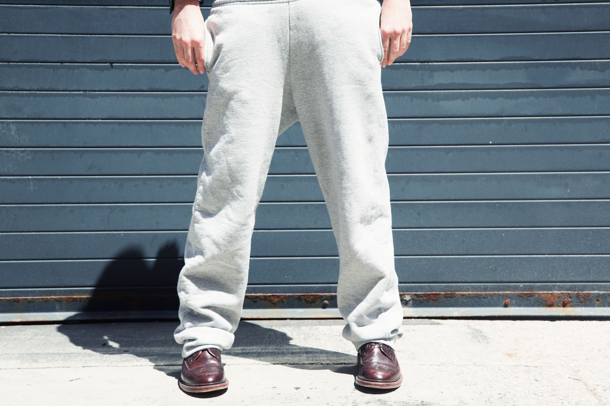 Formal Sweatpants Have Replaced Casual Sweatpants