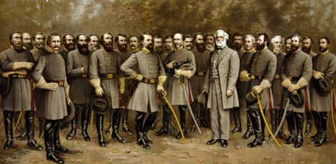 Heading South In The Civil War