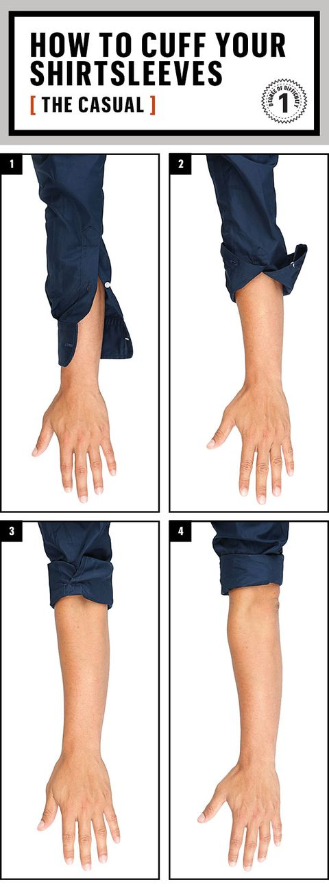 6a79bb62309 1. Unbutton both buttons. 2. Flip the cover over. 3. Tuck the cuff ...