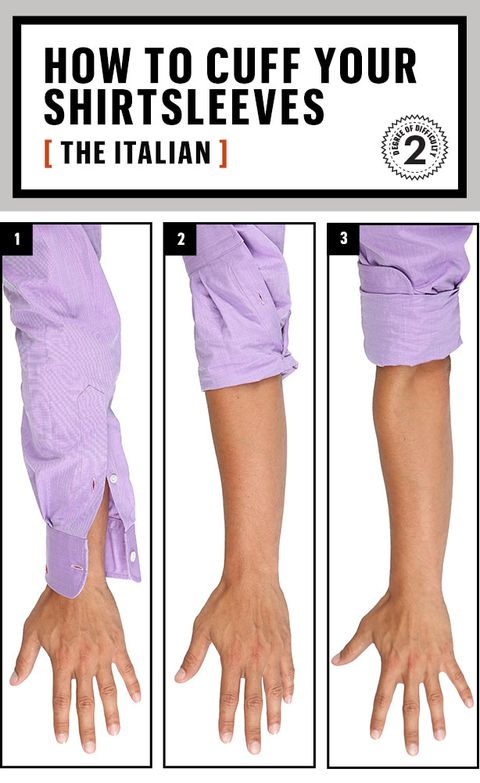 2cf3e25b053 How to Roll Up Your Sleeves the Best Way