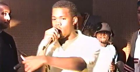 Watch a Young Kanye West Rap About Alanis Morissette