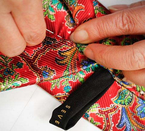 What it Takes to Make the Finest Ties in the World