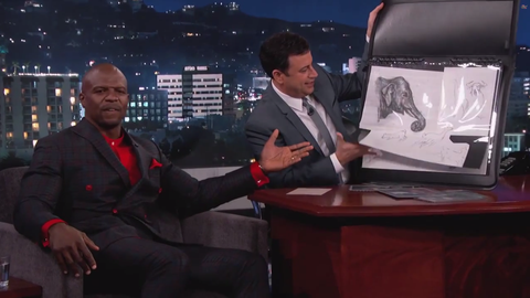 Terry Crews Is Also an Unbelievably Talented Artist Because Life Isn't Fair