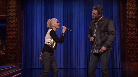 Watch Fallon's Epic Lip-Sync Battle with Gwen Stefani and Blake Shelton