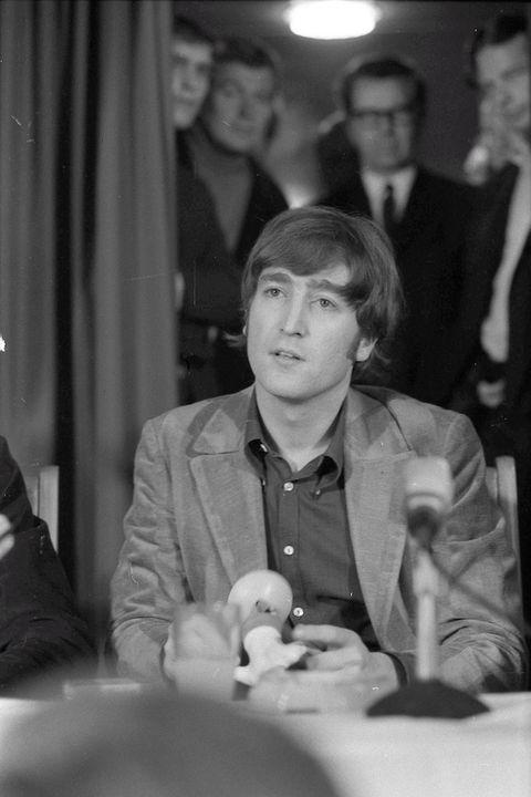 John Lennon In Hamburg Germany 1966 Photo By Gunter Zint Redferns Via Getty Images