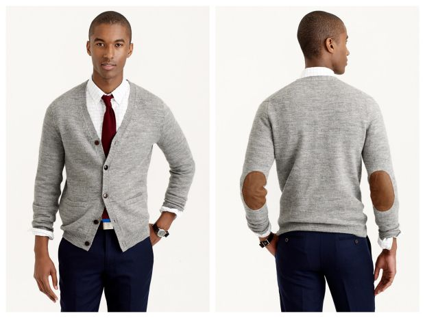 Fall Endorsement: The Elbow-Patch Cardigan